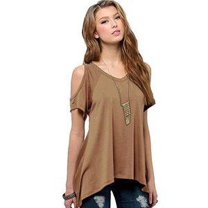 Tan blouse